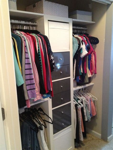 ikea hacks closet ikea hacked closet welcome home pinterest