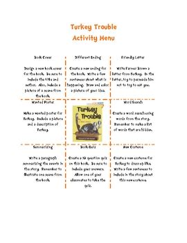 Turkey Trouble Worksheet Answers by Turkey Trouble Thanksgiving Activities By Swinging Through