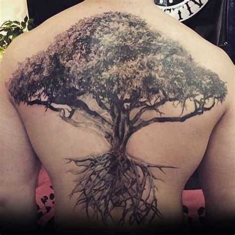tree back tattoo 40 tree back designs for wooden ink ideas