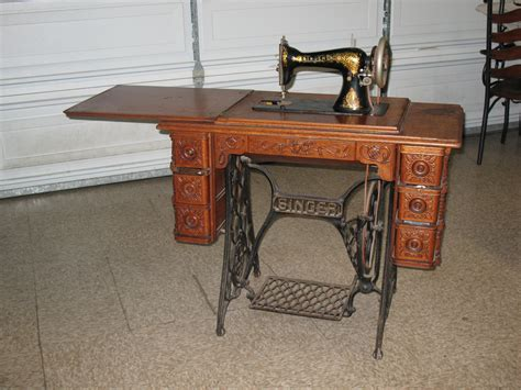 singer sewing machine cabinet singer sewing machine in original cabinet collectors weekly