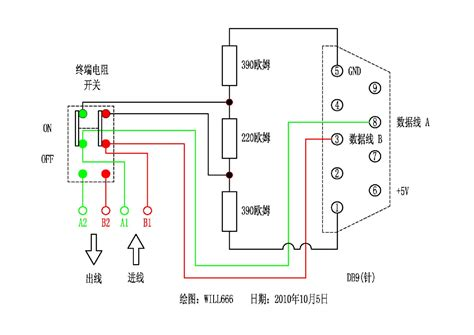 terminating resistor in profibus 转 新版dp接头原理图及dp网络检测工具的制作 薄艺在身 新浪博客