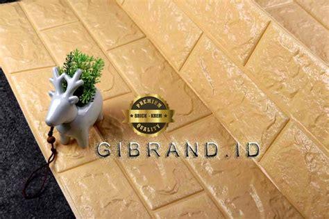 wallpaper sticker  brick cream premium quality