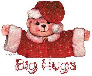 big christmas hugs awesome stuff  send  post pinterest hug  teddy bear quotes
