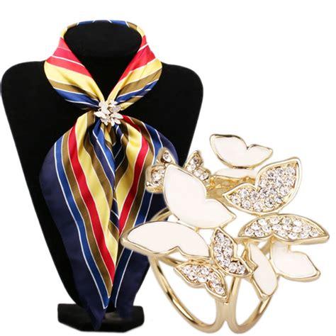 scarf buckle korean fashion wild butterfly tricyclic scarf buckle