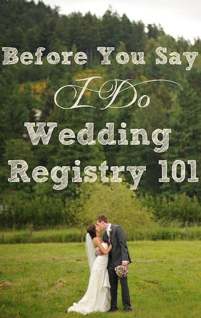 can i do a wedding registry you to do a wedding registry and you to wait to do it until i m there and can scan at