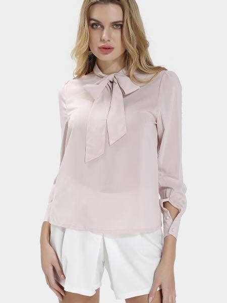 Bow Neck Blouse by Bow High Neck Blouse Us 17 95 Yoins