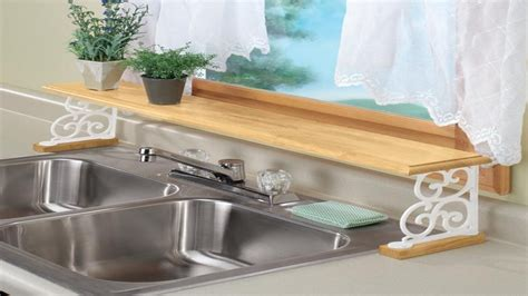 the kitchen sink shelf shelves kitchen sink