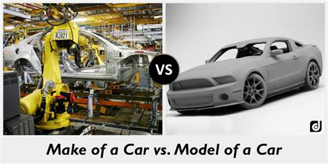 What A Difference A Model Makes by Difference Between Make And Model Of A Car