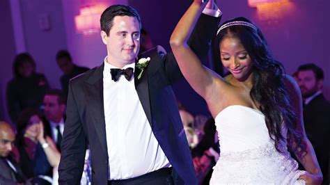 Cnns Isha Sesay And Leif Coorlim Wed Access Hollywoods | cnn s isha sesay and leif coorlim wed access hollywood s