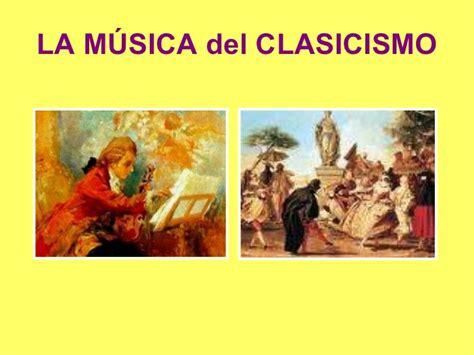 la msica del azar musica clasicismo
