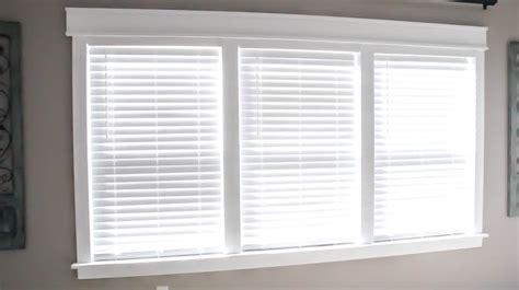 Craftsman Window Coverings Remodelaholic Diy Easy Craftsman Window Trim