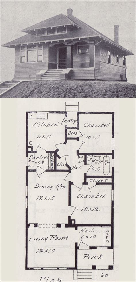 old floor plans old bungalow house plans find house plans