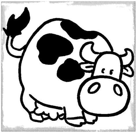 imagenes para dibujar una vaca los bonitos dibujos de vaca para pintar colorear