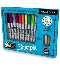 Sharpie Metallic Point 3 Pcs Set Berkualitas sharpie permanent markers ultra point 80s glam