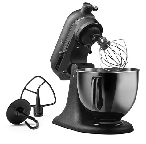 Black Tie Stand Mixer | kitchenaid introduces limited edition artisan 174 black tie stand mixer