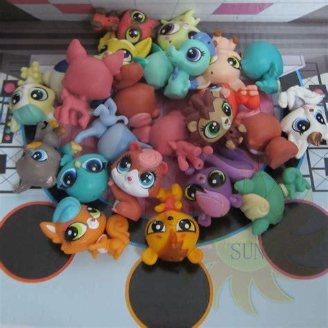 622222068592 Artsi Glitter Pets Squirrel 5pcs littlest pet shop animals mini baby figure lps child toys gift ebay