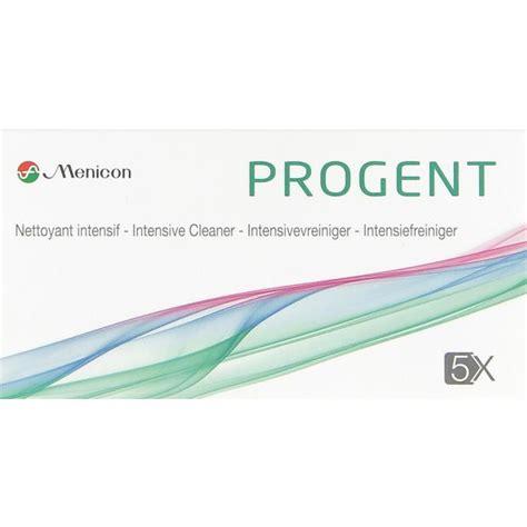 Menicon Progent Intensive Cleaner by Progent Intensiv Cleaner 3 Einheiten