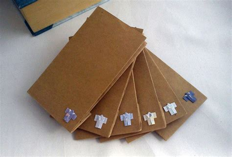 Mini Origami Paper - brown paper gift bags with mini origami from mohustore on etsy