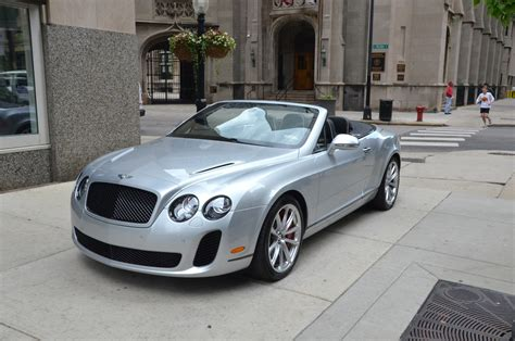 gold bentley convertible 2011 bentley continental supersports convertible used