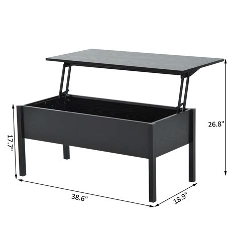 modern lift top coffee table modern coffee end table lift top with storage space living
