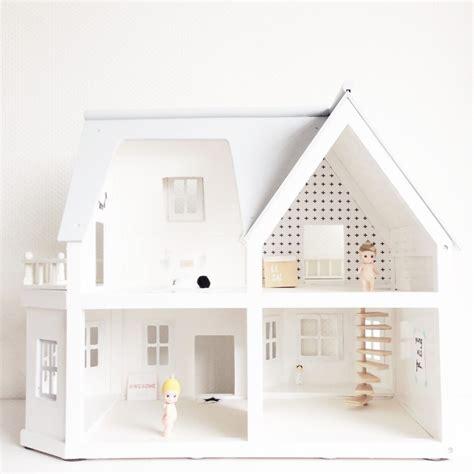 doll house project mini refurbished modern dollhouses chalk kids