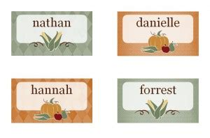 thanksgiving card templates microsoft thanksgiving place cards thanksgiving place card