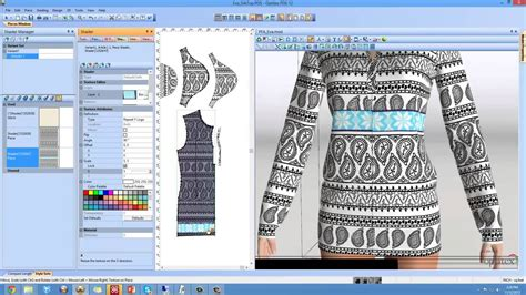 pattern design software online pattern cutting software ladies top design 2d pattern
