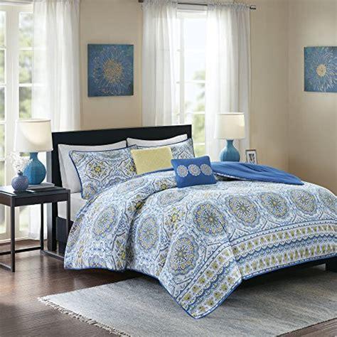 5 piece bedding comforter set king shams pillow bedroom home decor yellow gray ebay home essence taya comforter set 5 piece printed