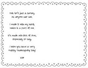simple thanksgiving poem free turkey handprint placemat template so cute free