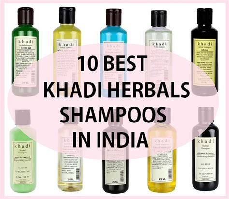 best products in india 10 best khadi herbals shoos in india
