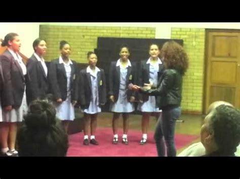 groote schuur high school groote schuur high school vocal ensemble cherish the day