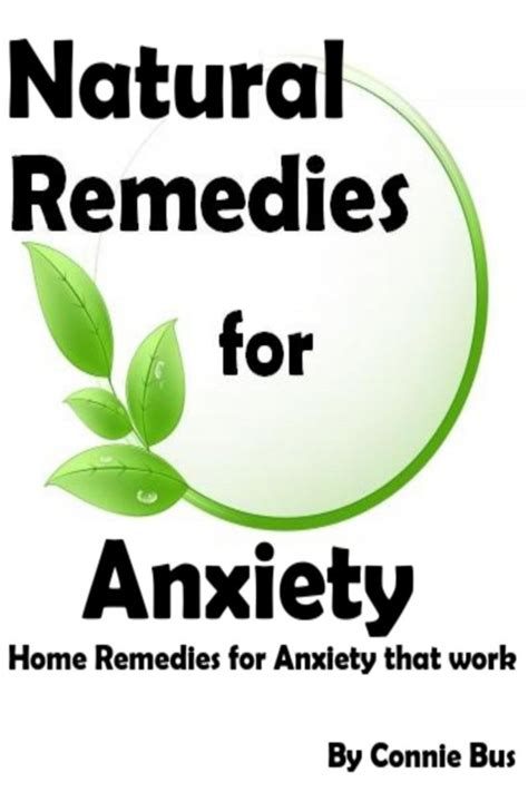 remedies for anxiety home remedies for anxiety