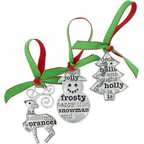 christmas ornaments all be jolly christmas ornament set of