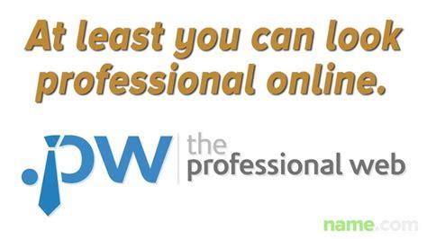 professional websites  pw domain names youtube