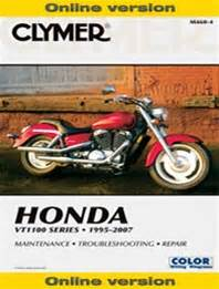 Honda Vt1100 Shadow Manual Service Repair Owners