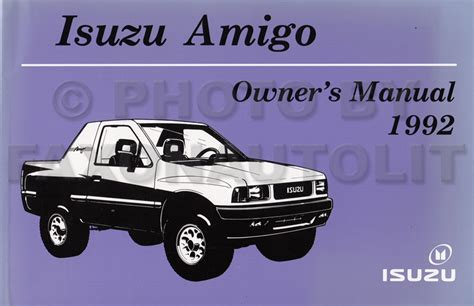 where to buy car manuals 1992 isuzu space parking system service manual repair manual for a 1992 isuzu amigo service manual 1992 isuzu trooper manual