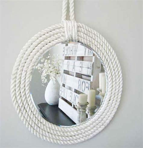 cornice specchio fai da te fai da te con la corda tante idee per decorazioni e