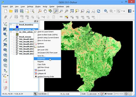 qgis hillshade tutorial raster mosaicing and clipping qgis tutorials and tips
