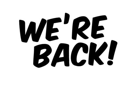 is back we are back manchester box office