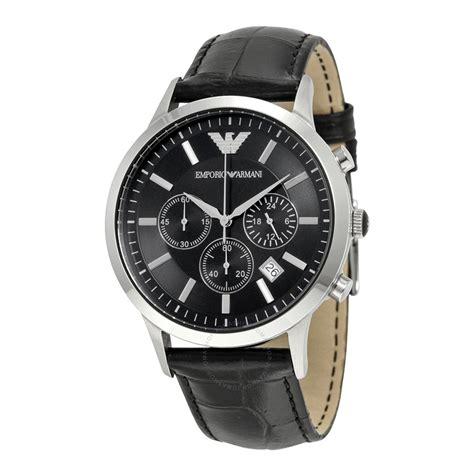 Emporio Armani emporio armani chronograph black s ar2447