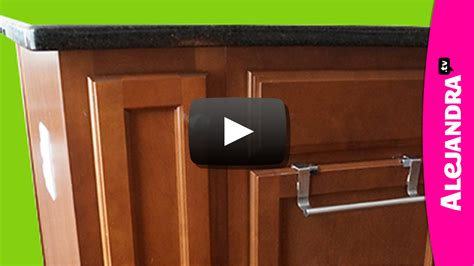 foil wrap cabinets our retreat inspiration pinterest video how to organize a narrow kitchen cabinet