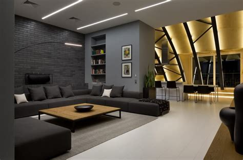 interior design news high lounge penthouse by alex obraztsov