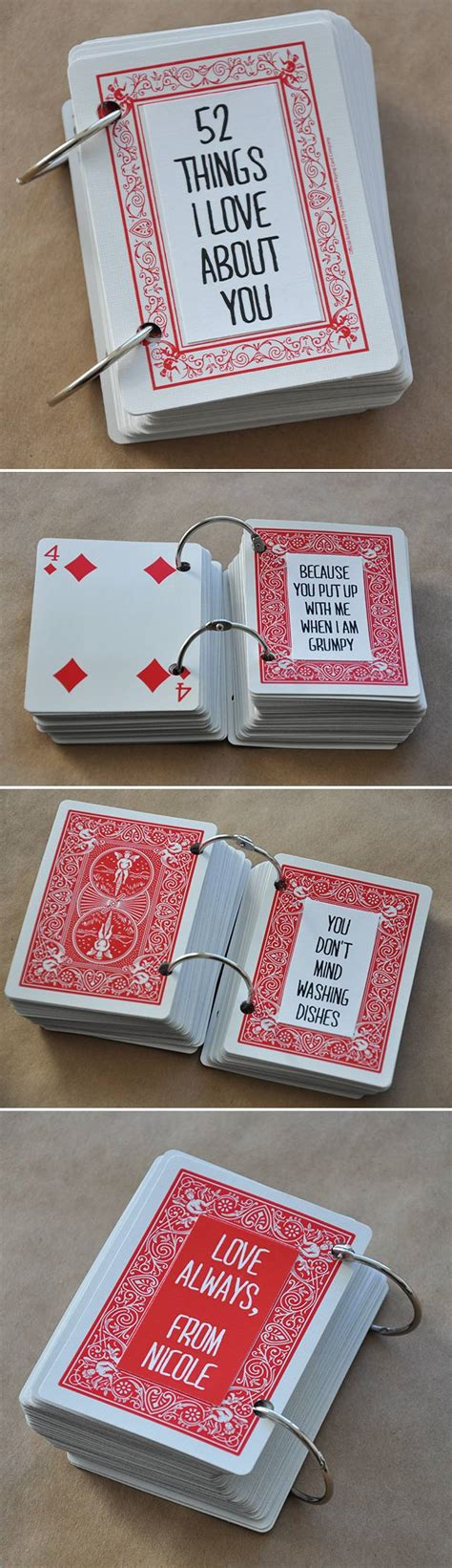 deck of cards valentines template 52 things i about you visualheart creative studio