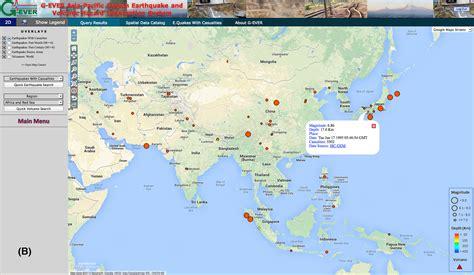 earthquake asia g ever asia pacific region earthquake and volcanic hazard