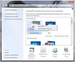 slideshow themes for windows 7 cara membuat slide show themes windows 7 dengan gambar