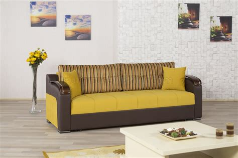 Divan Sofa Bed Divan Deluxe Signature Sofa Bed In Mustard Fabric By Casamode