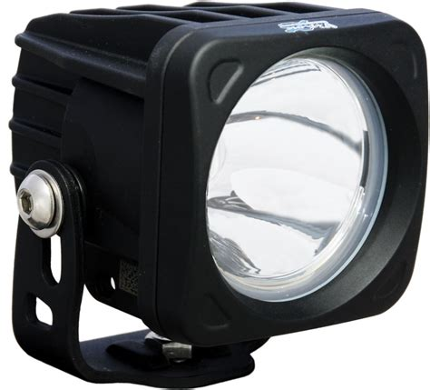 road lights vision x optimus single prime pod light led 10 watts narrow spot beam 3 quot wide vision x