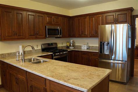 walnut kitchen cabinets granite countertops kashmir cream granite featured granite absolute