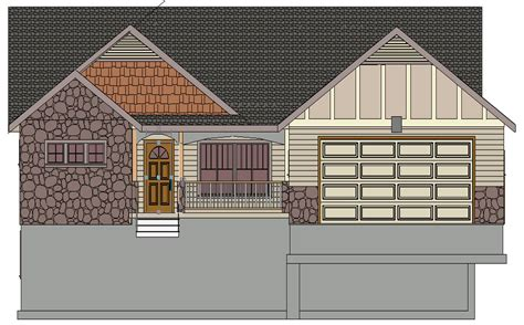 sds233 contractor spec house plan 3 bdrm 2 bath 1367