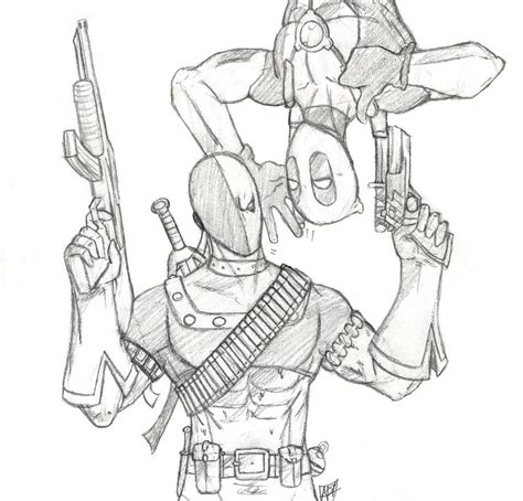 deathstroke mask coloring pages